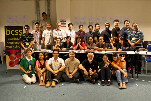 "HOSCAP Borneo go back to school - ""Bootcamp"" in wildlife study design and data analysis"