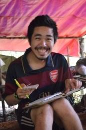 Seth Wong, volunteer reseacher