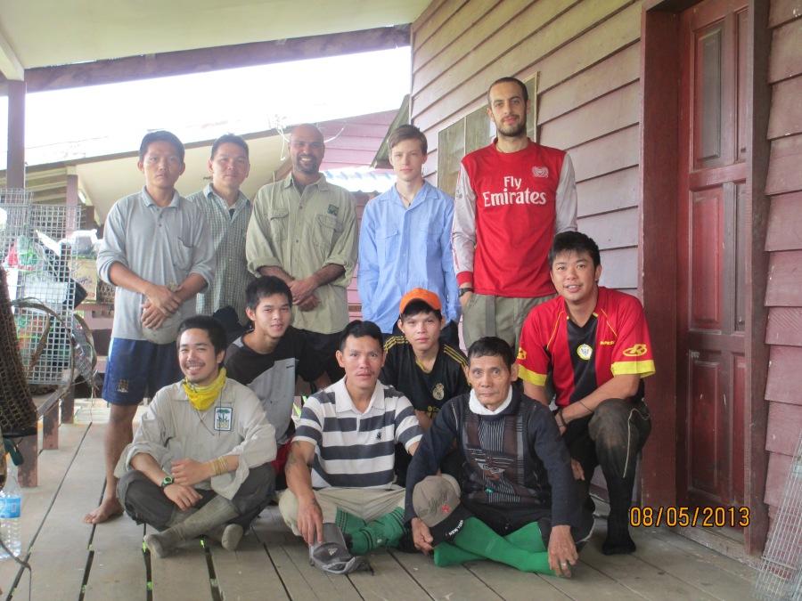John Mathai_HOSCAP Borneo field team_Kelesa Camp