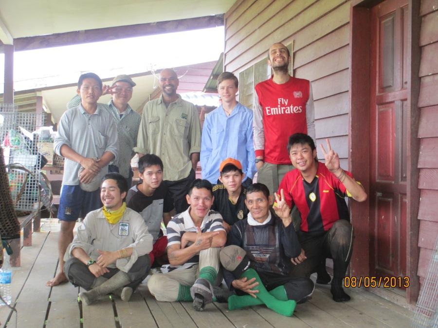 John Mathai_HOSCAP Borneo Team photo