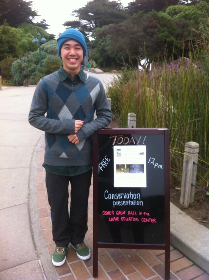 Seth Wong at San Francisco Zoo