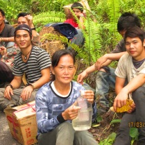 Our Penan porters