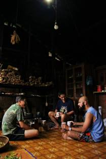 Coffee session with Coffee Chang, Uncle Englai and John Mathai at Long Lellang