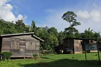 Penan village of Long Kepang