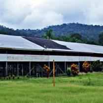 Longhouse at Long Lellang. The site of the proposed Nature School to be organized by Coffee Chang, Sandra Wong and 砂拉越荒野保護協會 SOW Sarawak