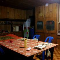 Another view of the kitchen at the proposed Nature School in the village of Long Lellang.