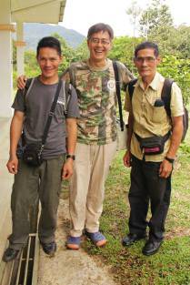 HOSCAP Borneo guides and Coffee Chang