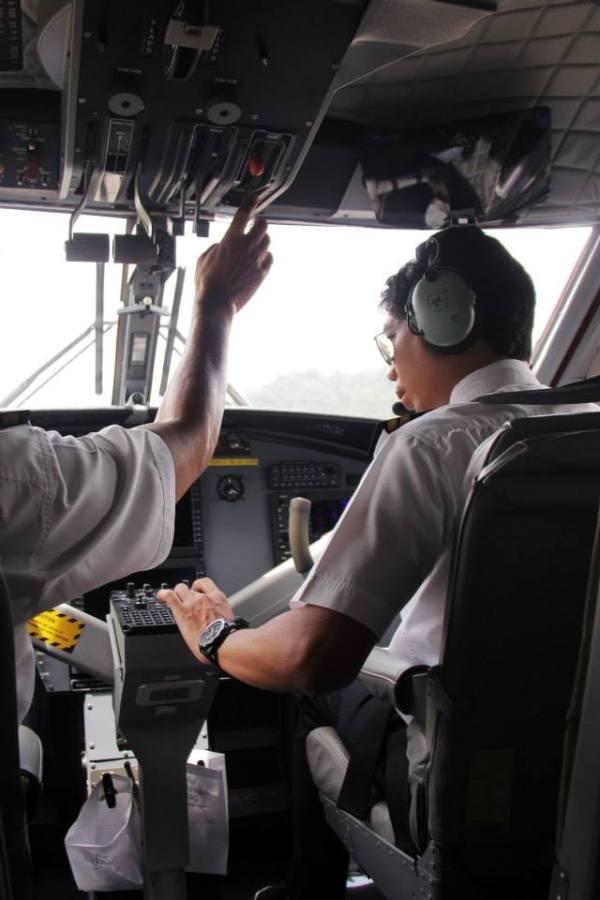 Flight from Long Lellang to Miri under the steady hands of Muhammad Syukri Draim