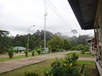 The field station - living quarters at the Sabah forestry complex, Deramakot Forest Reserve, Sabah