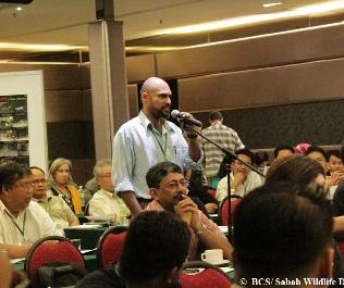 John Mathai_HOSCAP Borneo_Borneo Carnivore Symposium